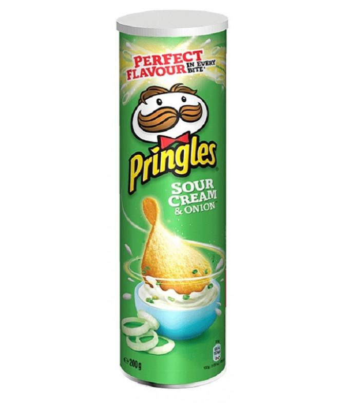Pringles Sour Cream & Cebolla 200gr T