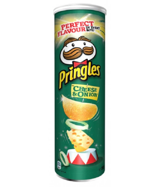 Pringles Queijo & Cebola 200gr