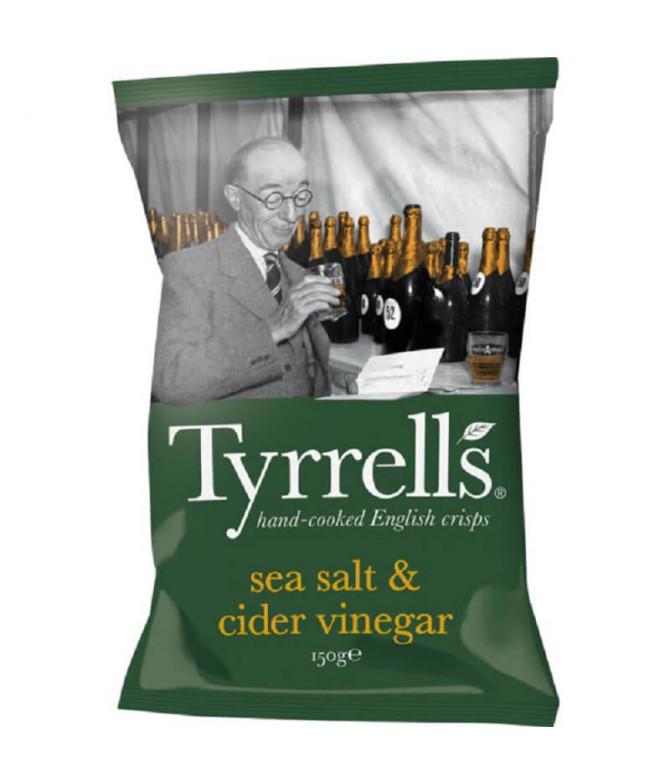 Tyrrells Chips Sal Marinho & Vinagre 150gr