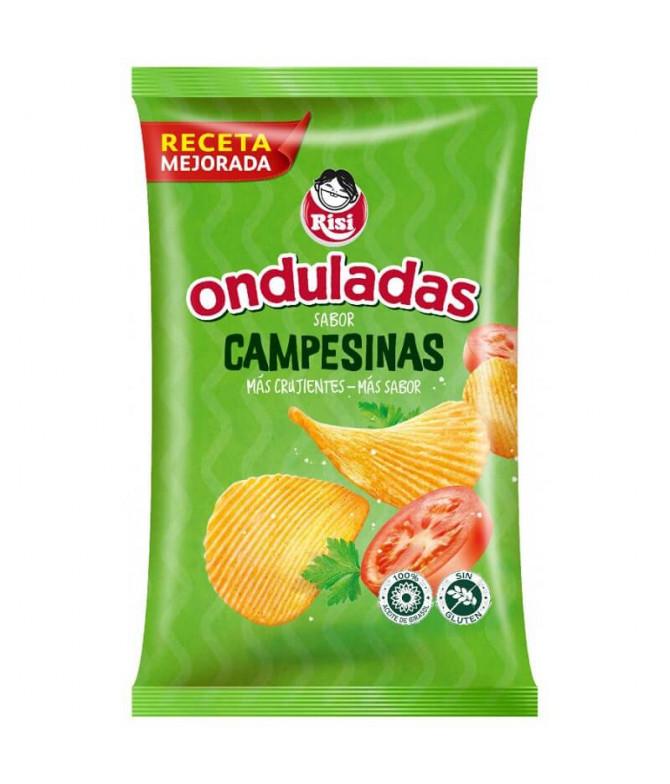 Risi Batata Frita Ondulada Camponesa 100gr