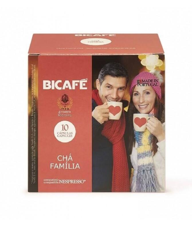 Bicafé Chá Família 10un