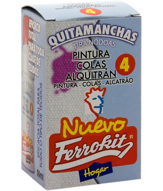 Ferrokit Tira Nódoas Pintura, Cola & Alcatrão 50ml