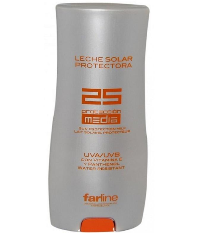 Farline Leite Protetor Solar SPF 25+ 400ml