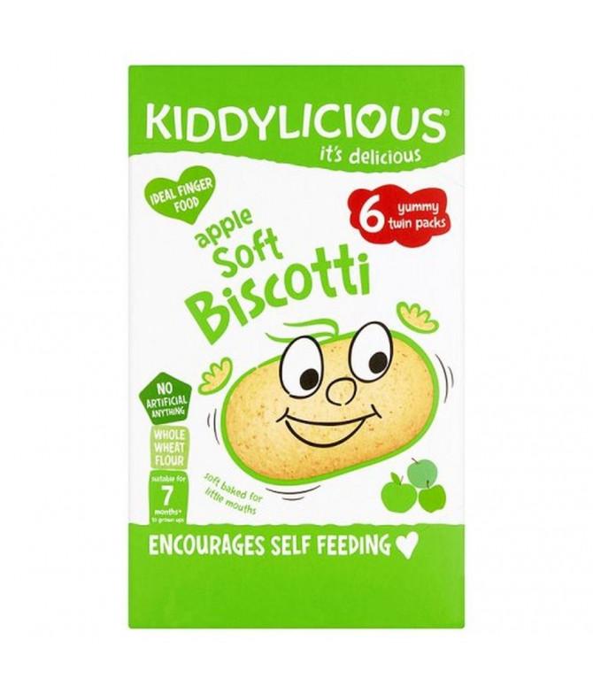 Kiddylicious Apple Soft Bolacha Maçã 120gr