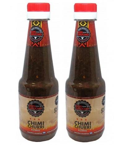 PACK 2 Don Gaucho Salsa Chimi Churri Picante 270ml T