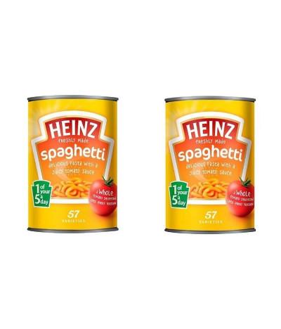 PACK 2 Heinz Spaghetti com Tomate 400gr