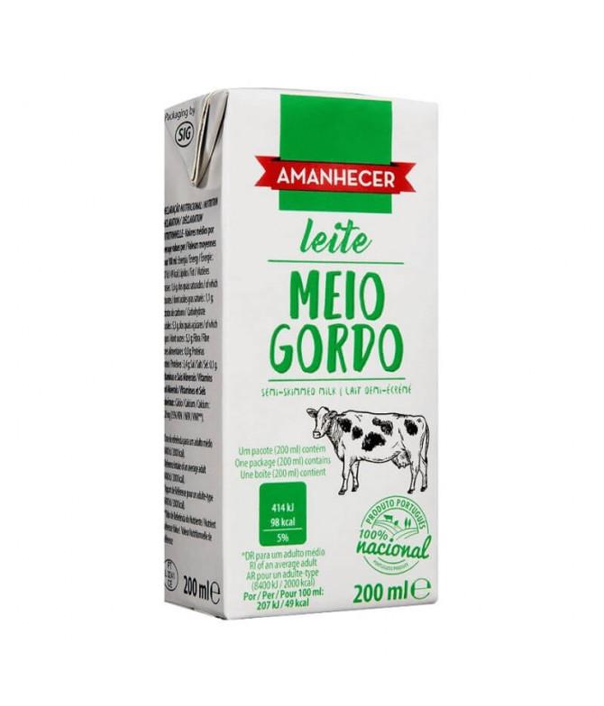 Amanhecer Leite Meio Gordo 200ml