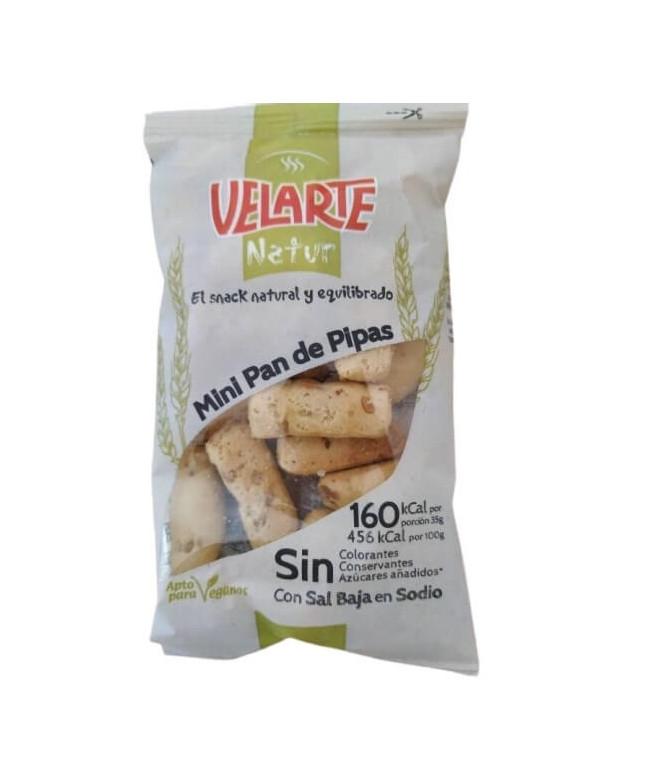 Velarte Natur Mini Pão Pipas 35gr