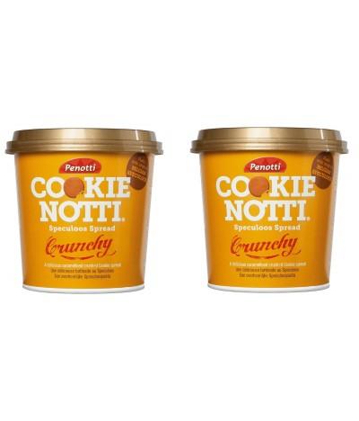 PACK 2 Creme de Barrar Cookie Notti Crunch