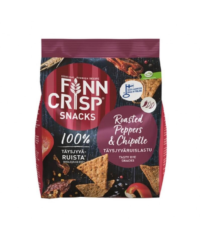 Finn Crisp Snacks Peppers & Chipotle 150gr T