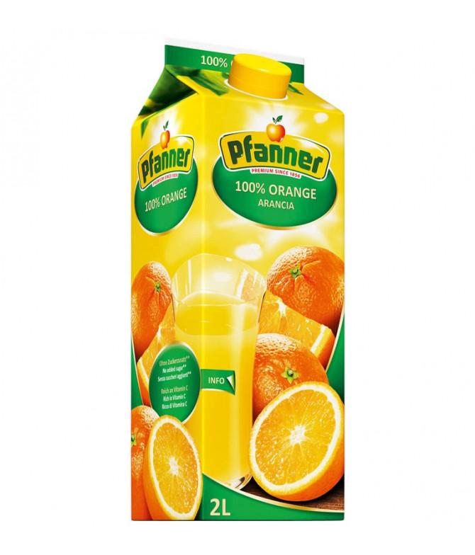 Pfanner Zumo Naranja 100% 2L T