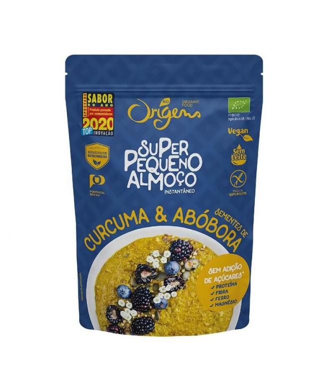 Origens Bio Super Peq Almoço Curcuma Abóbora 300gr