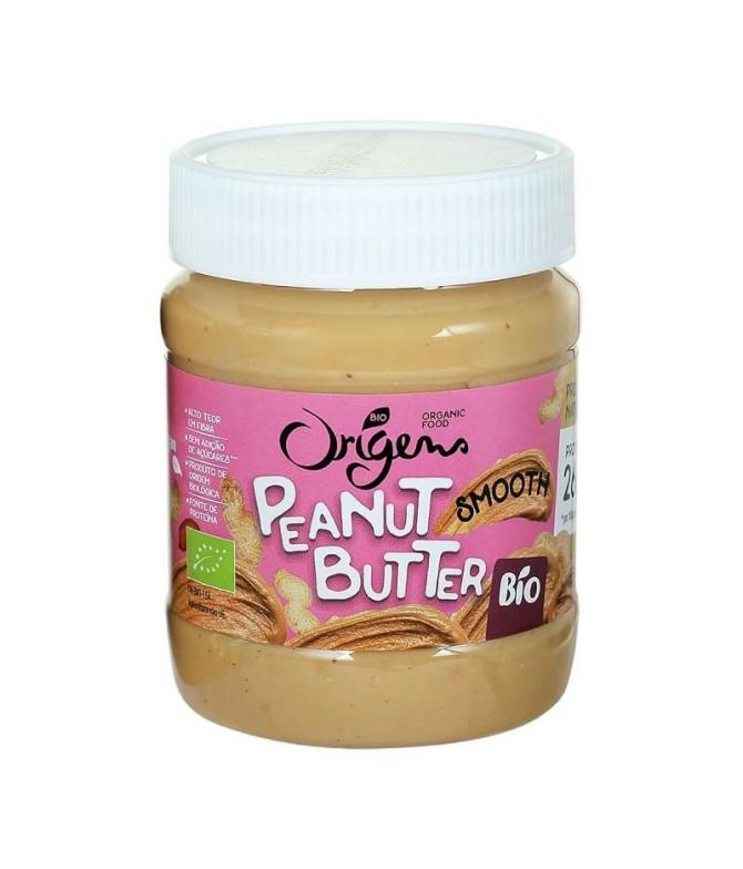 Origens Bio Manteiga Amendoim Suave 340gr