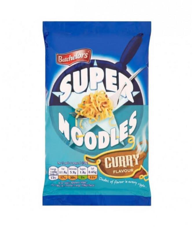 Batchelors Super Noodles Curry 100gr