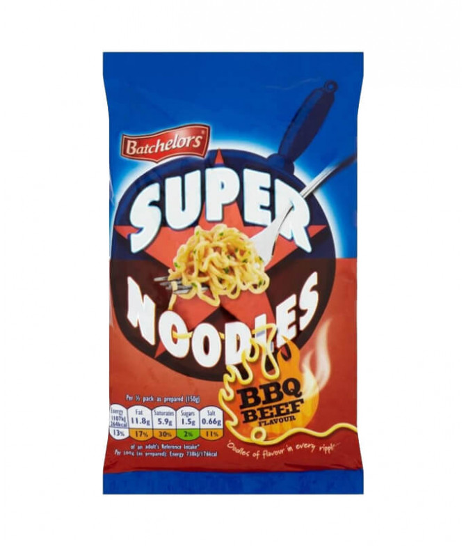 Batchelors Super Noodles BBQ 100gr