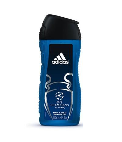 Adidas Gel Duche Uefa Star Edition  Cabelo e Corpo 250ml