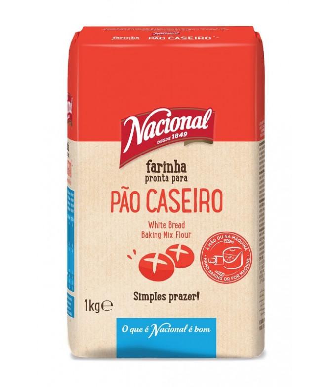 Nacional Farinha Pão Caseiro 1kg