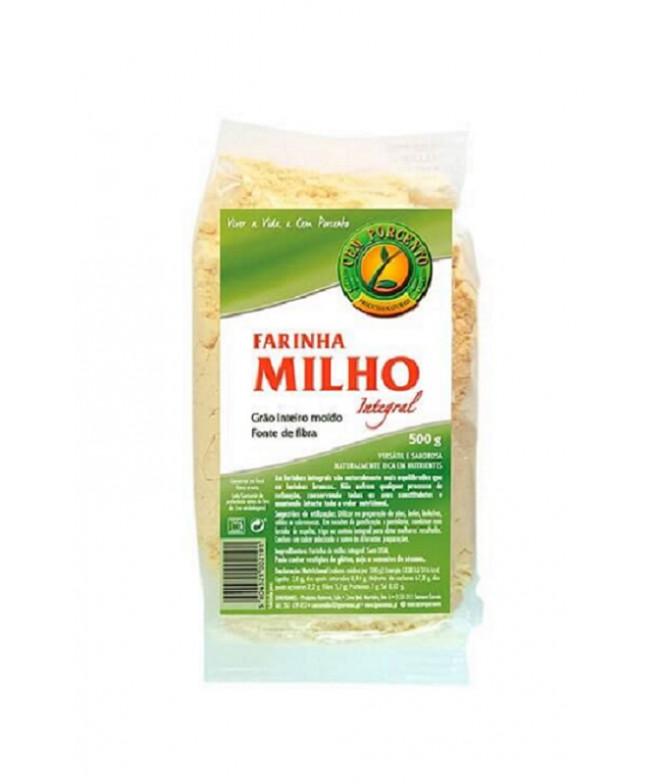 Cem Porcento Farinha Milho 500gr