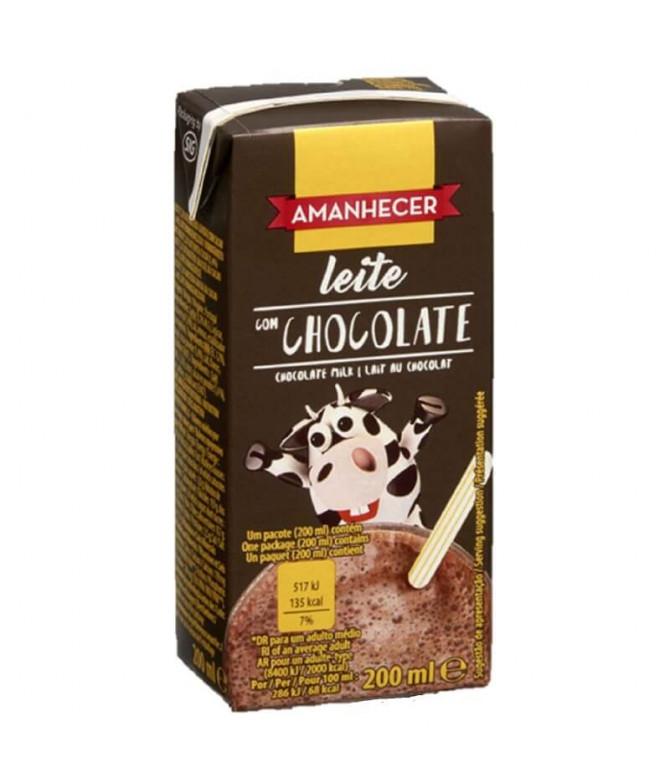 Amanhecer Batido Chocolate 200ml T