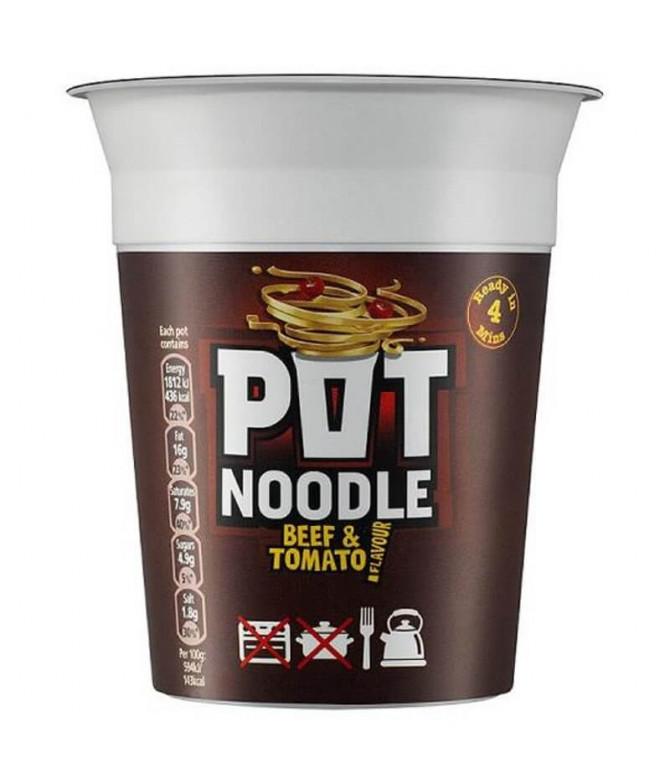 Pot Noodle Ternera & Tomate 90gr T