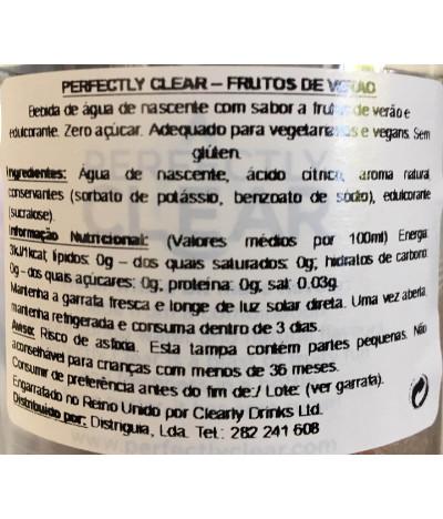 Perfectly Clear Água Sabor Frutos Verão 500ml