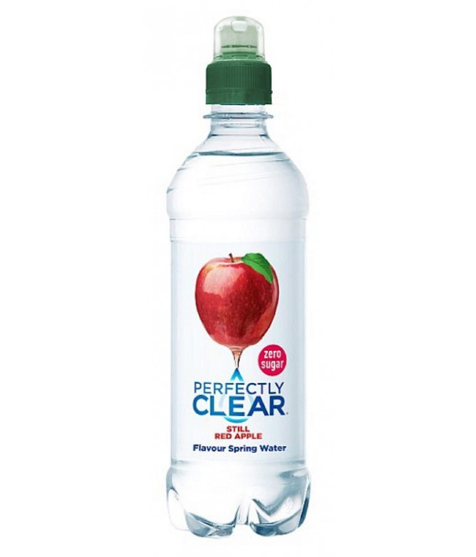 Perfectly Clear Agua sabor Manzana 500ml T