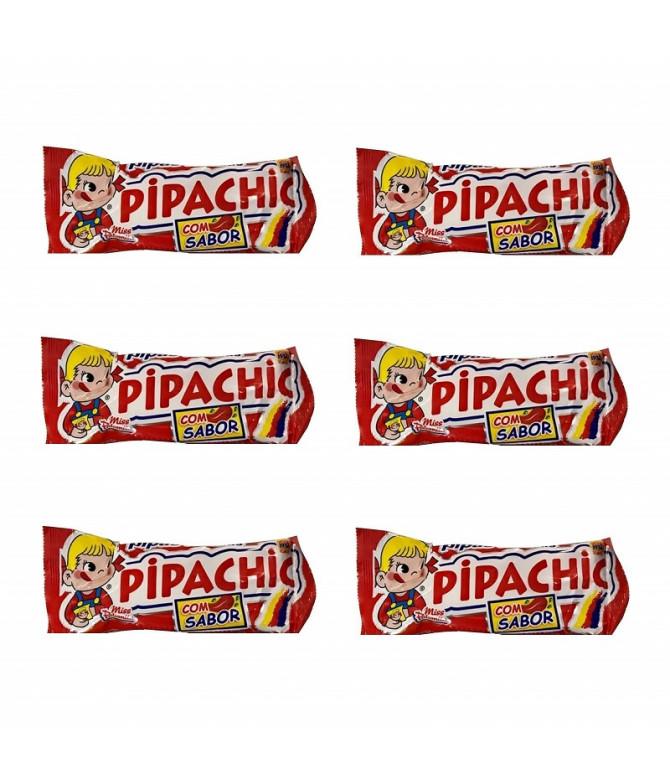 PACK FAMILIA 6 Churruca Pipachic Pipas Sabor a Ketchup 37gr T