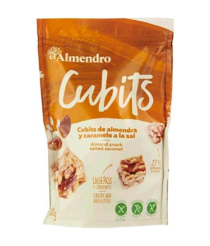 El Almendro Cubits Almendra Caramelo 100gr T