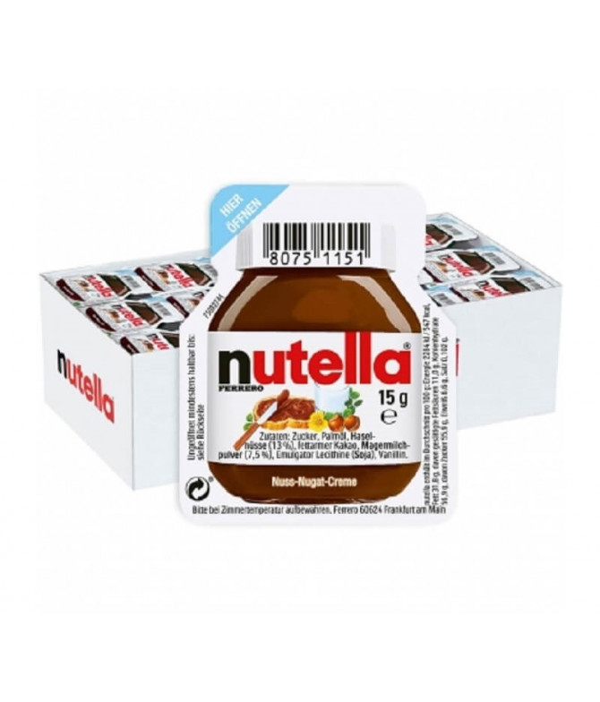 Nutella Crema Chocolate Avellana 60x15gr T