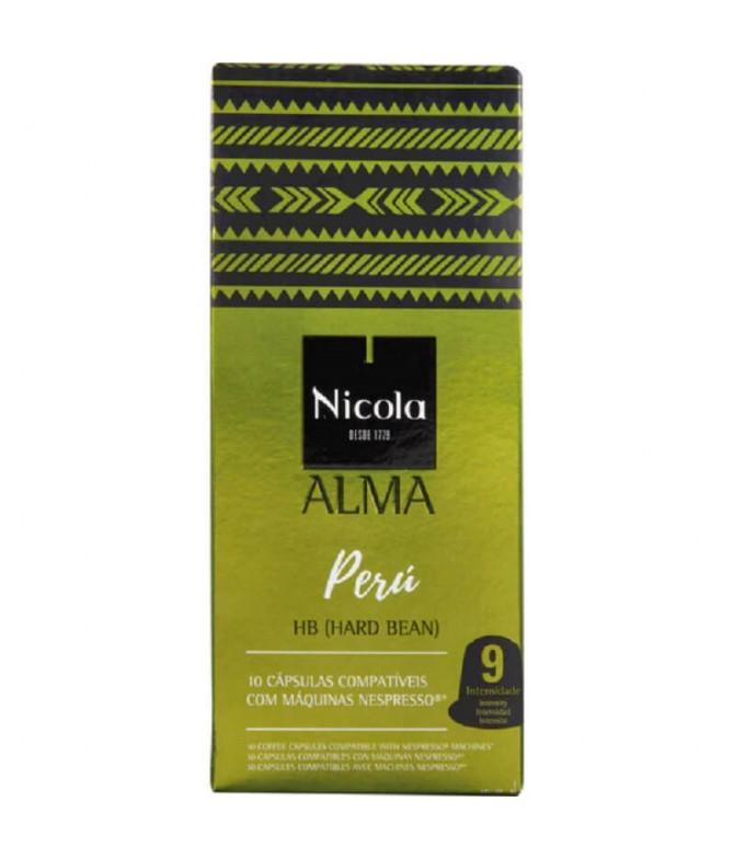 Nicola Alma Perú Café Comp Nespresso 10un