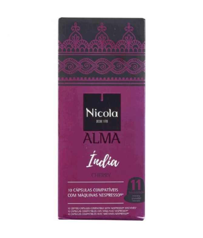Nicola Alma Índia Café Comp Nespresso 10un