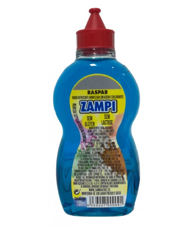 Zampi Bebida Refrescante Tropical 100ml T