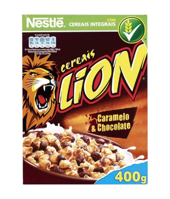 Nestlé Cereais Lion Caramelo Chocolate 400gr
