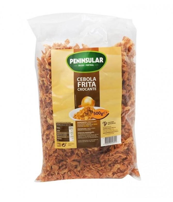 Peninsular Cebola Frita Crocante 500gr