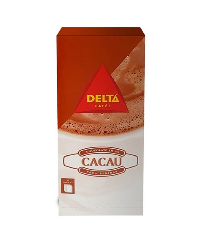 Delta Chocolate en Polvo 50un T