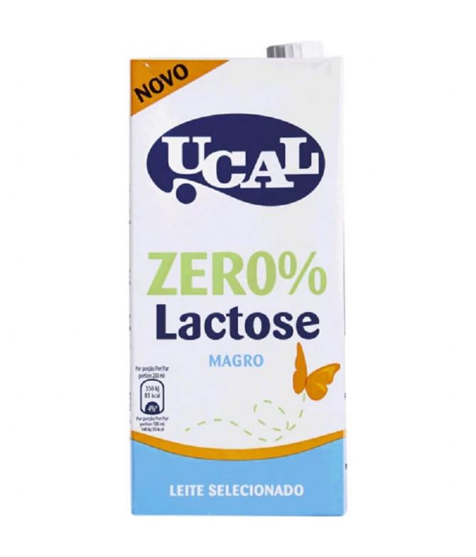 Ucal Leite Magro Zer0% Lactose 1L