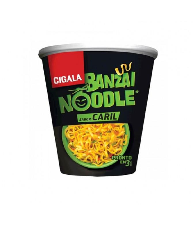 Cigala Noodles Banzai Caril 67gr