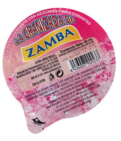 Zamba Granizado Morango 95ml