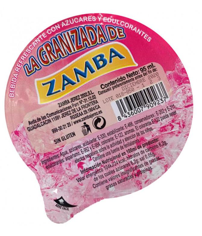 Zamba Granizada Fresa 95ml t