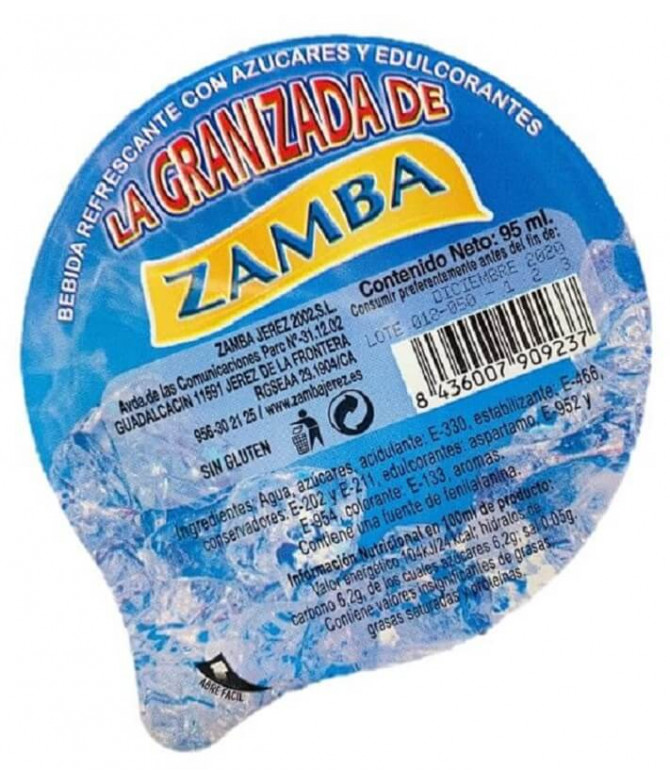 Zamba Granizado Tropical 95ml