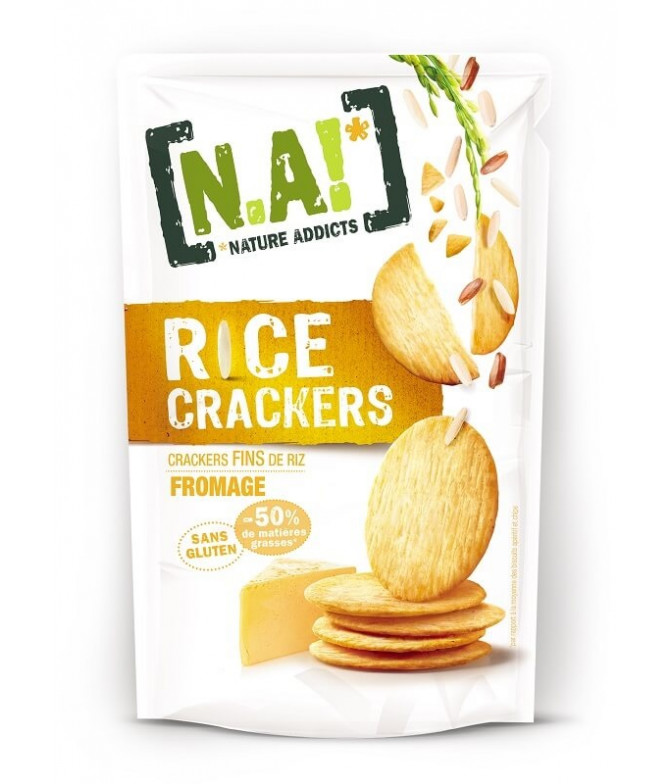 Nature Addicts Cracker Arroz & Queijo 70gr