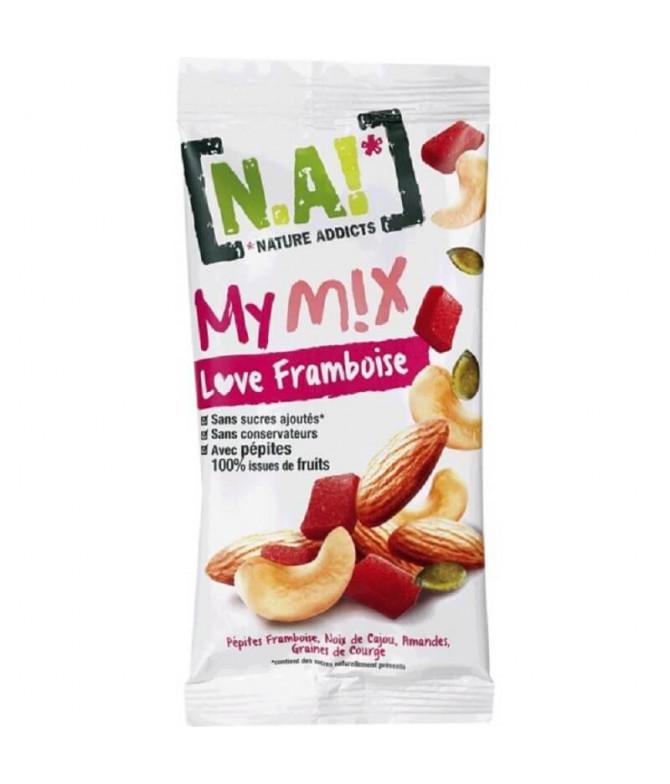 Nature Addicts Mymix Frutos Secos Frambuesa 40gr T