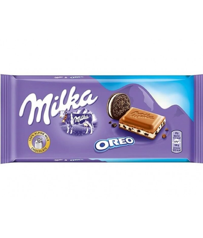 Milka Tableta Chocolate & Oreo 100gr T