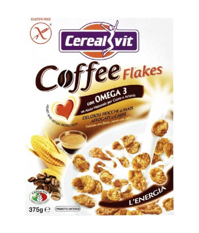 Cerealvit Cereais Coffee Flakes 375gr