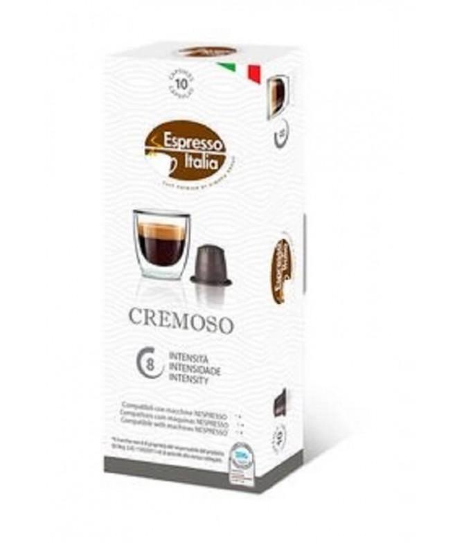 Espresso Italia Café Cremoso para Nespresso 10un
