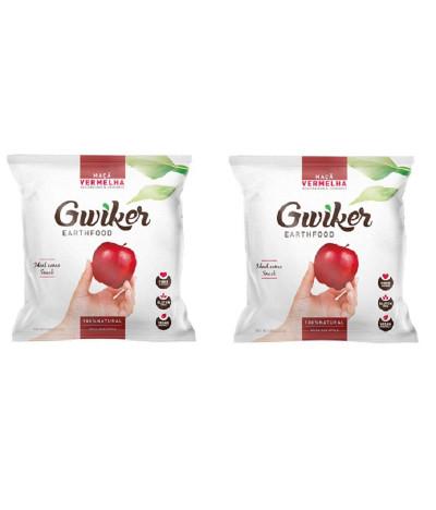 PACK 2 Gwiker Maçã Vermelha 25gr