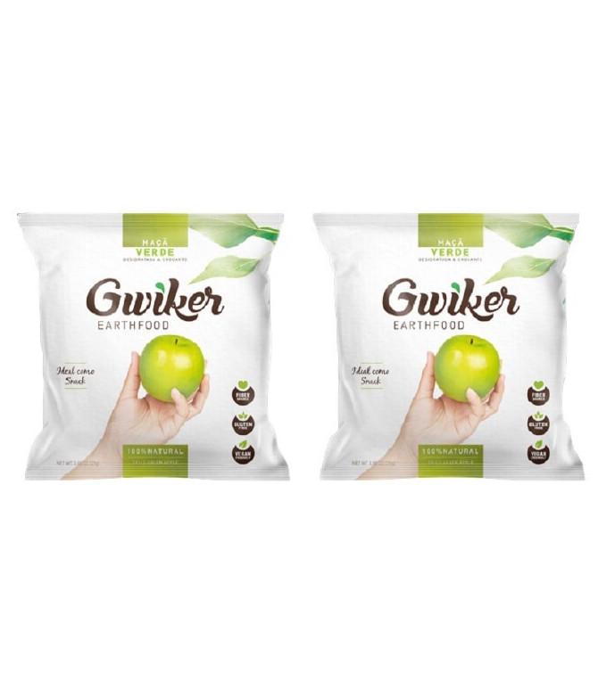 PACK 2 Gwiker Maçã Verde 25gr