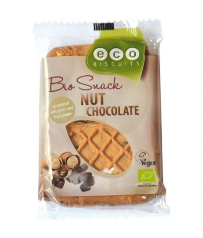 Eco Biscuits Bolacha Avelã Chocolate 45gr