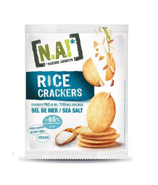 Nature Addicts Cracker Arroz & Flor de Sal 35gr