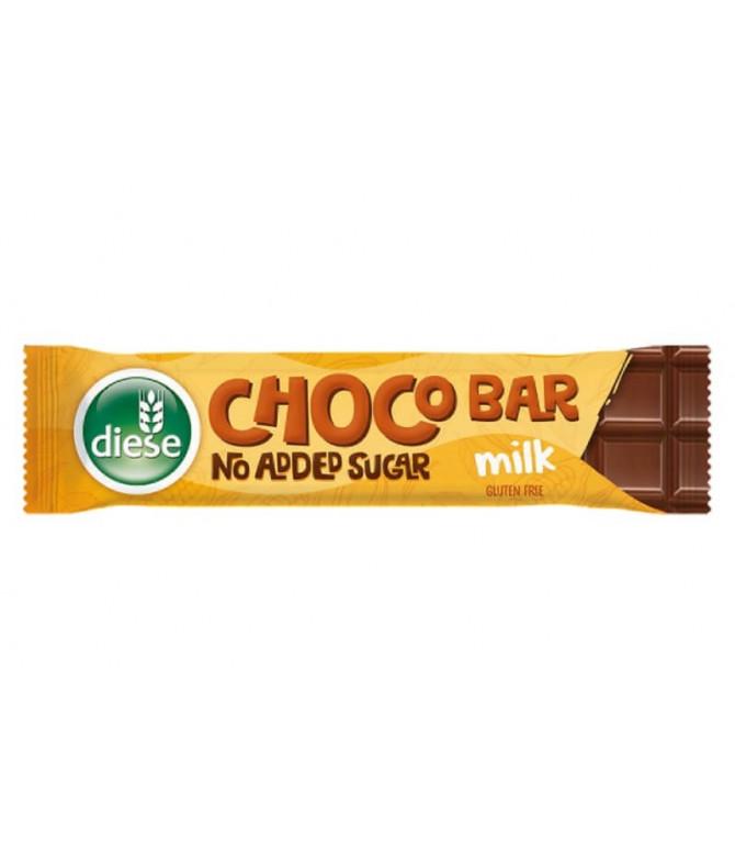 Diese Chocolate Leche Sin Azúcar 30gr T